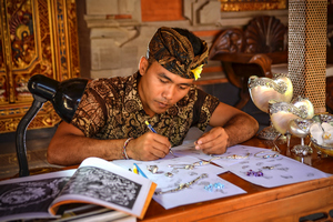"Bali jewellery traditions and the story of the collection ""1001 Nights"""