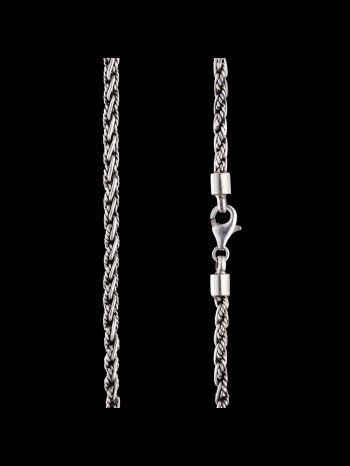 4mm Silver chain - filigree