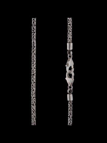3mm silver chain (2locks)