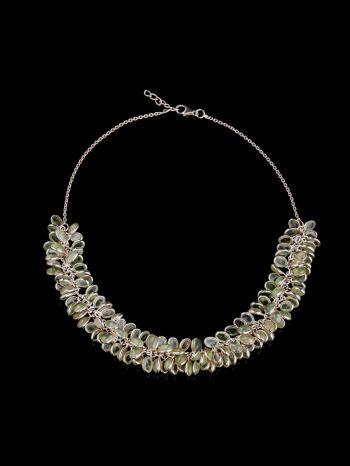 Prenite silver necklace