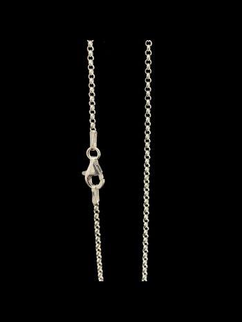 Light 1,8 mm silver chain