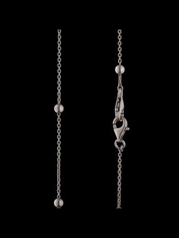Silver chain with balls (2locks)