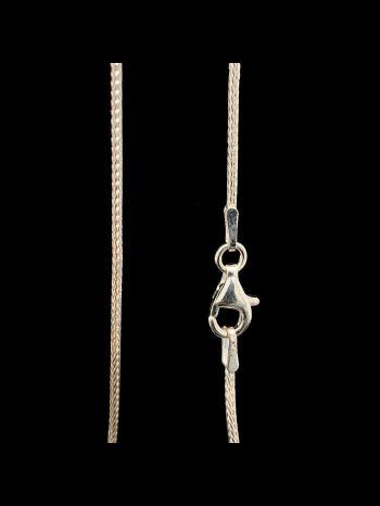 Silver Foxtale Chain  ⌀ 1 mm