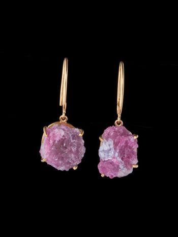 Tourmaline 14K Gold Earrings