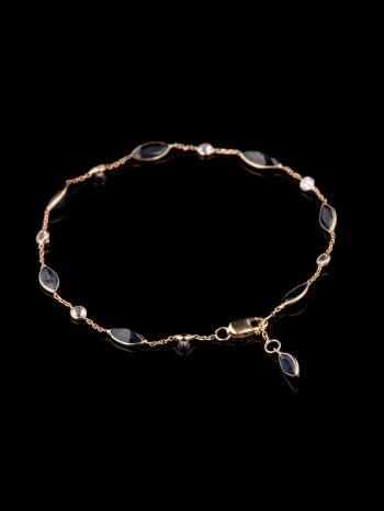 Sapphire 14K Gold bracelet