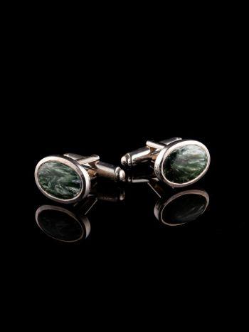 Serafinite Silver Cufflinks