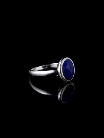 Lapis lazulisilver ring