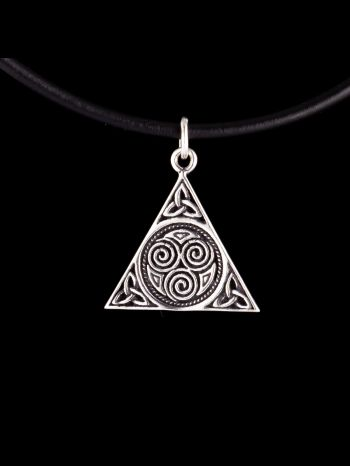 Silber pendant with symbols