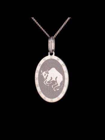 "Zodiac pendant ""Taurus"""