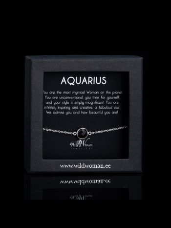 Aquarius - the most mystical Woman on the Planet (silver)