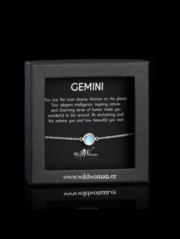 Gemini - the most versatile Woman on the Planet (silver)
