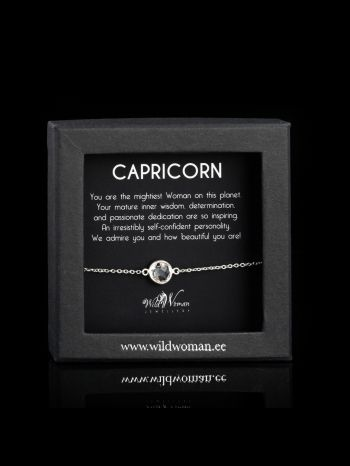 Capricorn - the most powerful Woman on the Planet (silver)