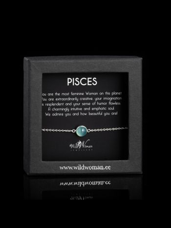 Pisces - the most feminine Woman on the planet (silver)