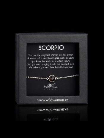 Scorpio - the most powerful Woman on the Planet (silver)