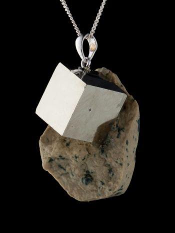Pyrite In Stone- Pendant