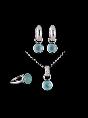 CHALCEDONY SILVER JEWELRY SET (MIX AND MATCH)