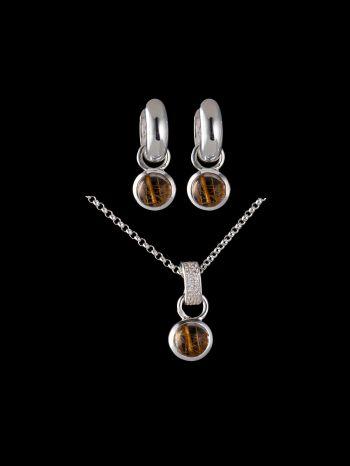 RUTILATED QUARTZ  silver jewelry set (mix and match)