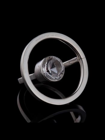 """""""Sensuality"""" silver ring"""