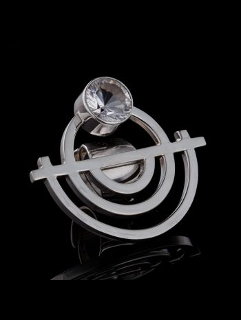 """""""Oneness"""" silver ring"""