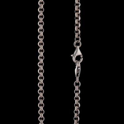 4mm silver chain (2locks)