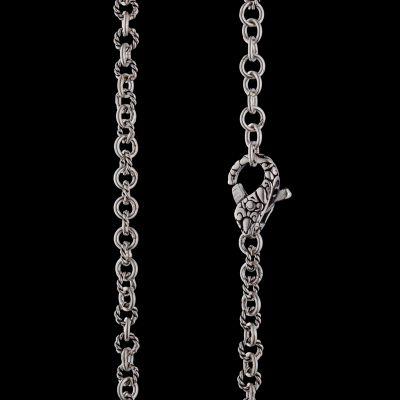 5mm filigree silver chain