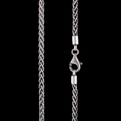 3mm Fishtale silver chain