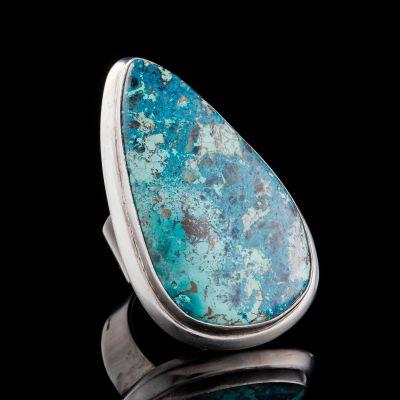 Asurite Silver Ring