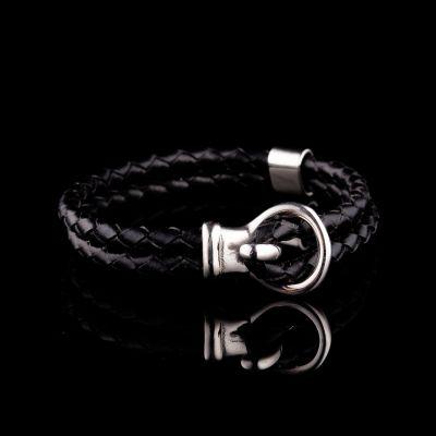 Leather bracelet 22cm