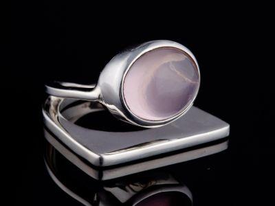 """Self trust"" silver ring"