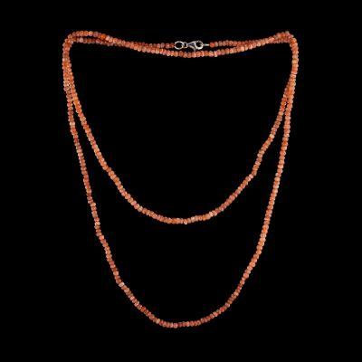 Sapphire Necklace, 100cm