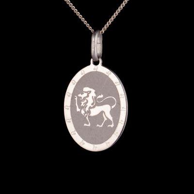 "Zodiac pendant ""Leo"""