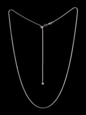 Adjustable Silver chain