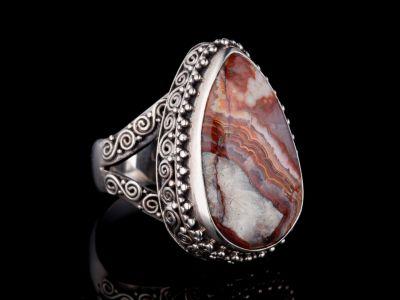 Jasper Silver Ring