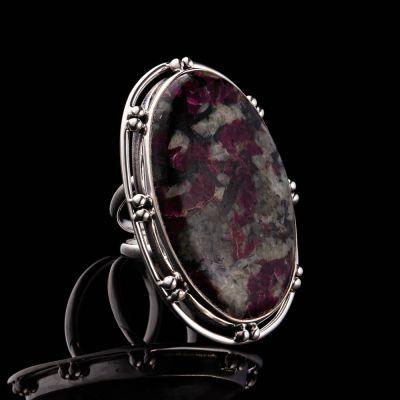 EUDOLITE silver ring
