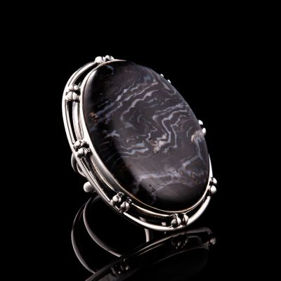 DURANGO JASPER silver ring