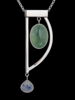 """""""Mighty Me"""" silver pendant"""