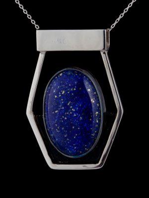 """""""Self-love""""i silver pendant"""