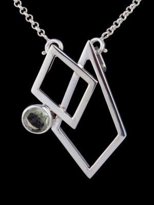 """""""Passion"""" silver pendant"""