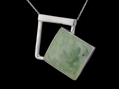 """""""Self-love"""" silver pendant"""