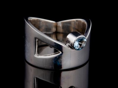"""""""Passion"""" silver ring"""