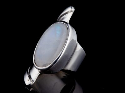 """""""Mighty me"""" silver ring"""